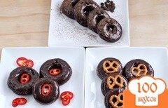 Фото рецепта: «Шоколадные пончики»