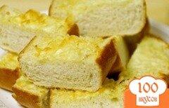 Фото рецепта: «Хлеб с чесноком и пармезаном»