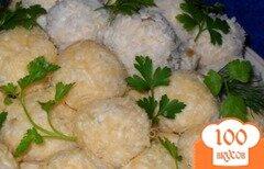 Фото рецепта: «Рафаэлло из курицы с орешками»