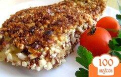 Фото рецепта: «Белый амур в ореховой панировке»
