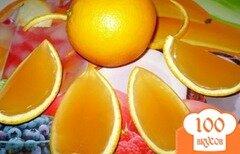"""Фото рецепта: «Желе """"Апельсинка""""»"""