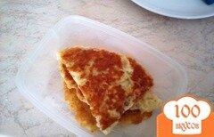 Фото рецепта: «Быстрая сырная лепешка»
