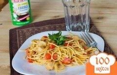 Фото рецепта: «Паста с каджунским соусом»