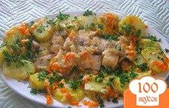Фото рецепта: «Рыба, запеченная под майонезом»
