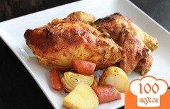 Фото рецепта: «Жареная курица по-индийски»