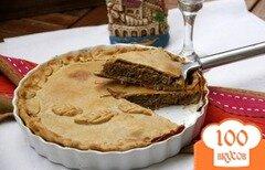 Фото рецепта: «Французский пирог с мясом и красным вином»