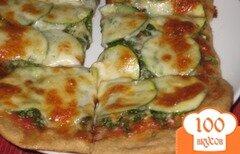 Фото рецепта: «Пицца с овощами»