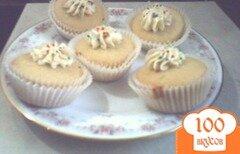 Фото рецепта: «Домашние ванильные кексы»