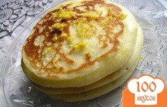 Фото рецепта: «Лимонные оладьи на сметане»