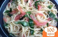 Фото рецепта: «Пирог из спагетти от Джейми Оливера»
