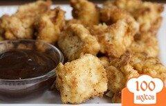 Фото рецепта: «Сладкие куриные наггетсы»