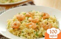Фото рецепта: «Лимонная паста с креветками»