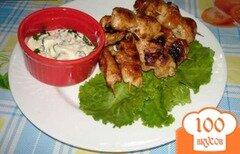 Фото рецепта: «Куриные шашлычки на палочках»