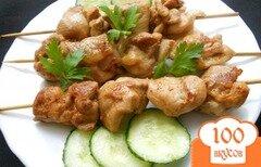 Фото рецепта: «Шашлык из курицы на сковороде»