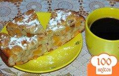 Фото рецепта: «Пирог с хурмой»