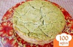 Фото рецепта: «Закусочная творожная запеканка с зеленью»