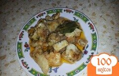 Фото рецепта: «Рыба в томатном соусе»
