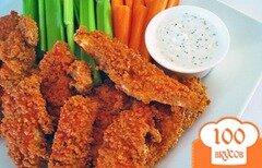 Фото рецепта: «Куриные палочки баффало»