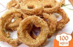 Фото рецепта: «Луковые кольца в духовке»