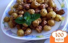 Фото рецепта: «Мелкий картофель с чесноком»