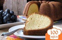 Фото рецепта: «Фунтовый кекс»