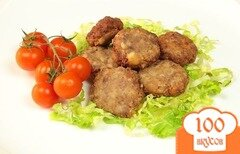 Фото рецепта: «Жареные фрикадельки»
