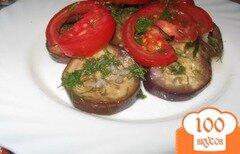 Фото рецепта: «Быстро маринованные баклажаны»