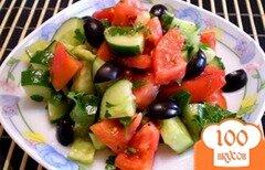 Фото рецепта: «Овощной микс с пикантной заправкой»