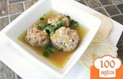Фото рецепта: «Суп с тефтелями альбондигас»