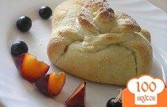 Фото рецепта: «Творожные мешочки с фруктами»