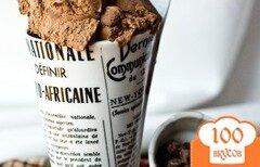 Фото рецепта: «Шоколадное мороженое-мусс»