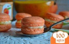 Фото рецепта: «Макарон с фруктовой начинкой»