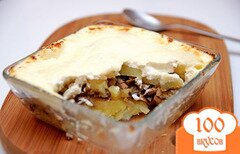 Фото рецепта: «Запеченный картофель с грибами»