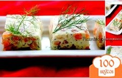Фото рецепта: «Сметанный мусс с лососем»