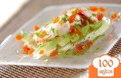 Фото рецепта: «Карпаччо из осьминога»