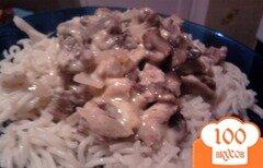 Фото рецепта: «Жульен с мясом»