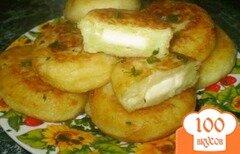 Фото рецепта: «Зразы картофельные с сыром»