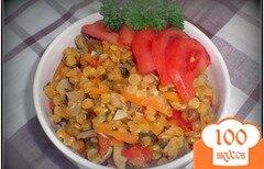Фото рецепта: «Чечевица с овощами»