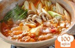 Фото рецепта: «Суп в горшочке со свининой»