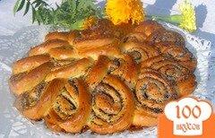 Фото рецепта: «Пирог-рулет с маком»