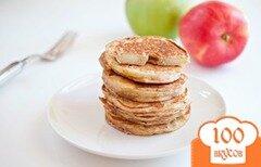 Фото рецепта: «Яблочные кольца-блины»