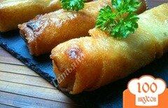 Фото рецепта: «Сигары с овощной начинкой из теста брик»