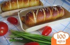 Фото рецепта: «Сосиски в тесте»