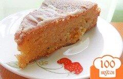 Фото рецепта: «Пирог с курагой»