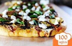 Фото рецепта: «Пицца с овощами на гриле»
