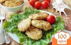 Фото рецепта: «Котлеты из хека и кальмара с сыром»