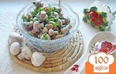 Фото рецепта: «Маринованные шампиньоны за 30 минут»