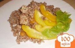 Фото рецепта: «Гречка с курицей и болгарским перцем»