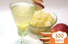Фото рецепта: «Коктейль с шампанским и ананасами.»