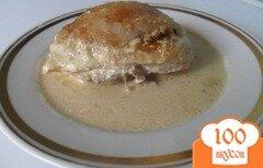 """Фото рецепта: «Курица в сметанно-горчичном соусе """"Неженка""""»"""